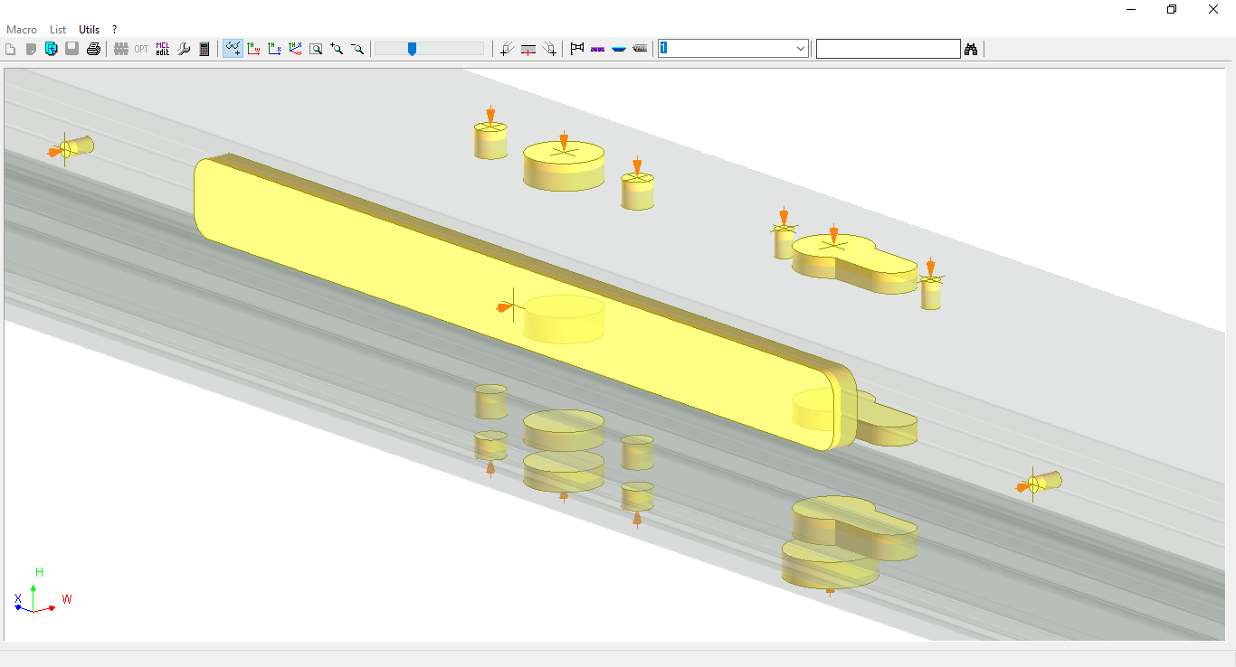 Uni_Link creates the individual data files for the different CNC centres.